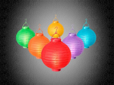 papierlampions, papier lampion lichterkette, paper latern, light chain, reispapier,